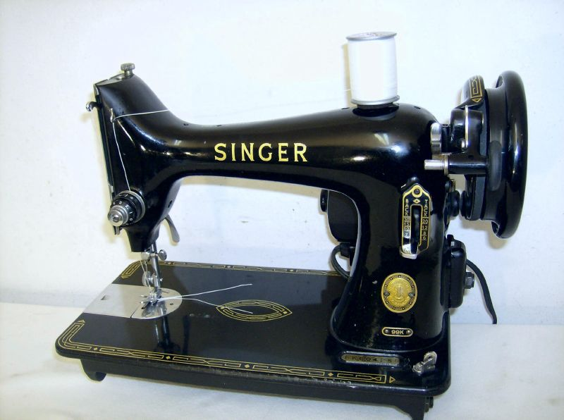 HEAVY DUTY INDUSTRIAL STRENGTH SINGER 40k SEWING MACHINE Denim Magnificent Antique Singer Upholstery Sewing Machine
